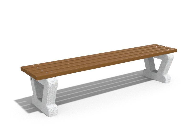 parkbank 110 aus beton von bituma. Black Bedroom Furniture Sets. Home Design Ideas