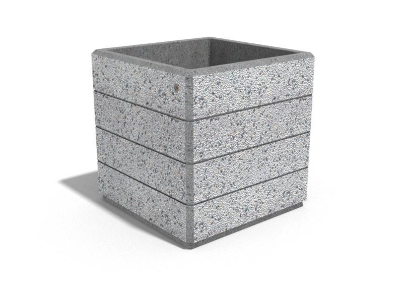 Pflanzkübel 73 aus Beton von Bituma
