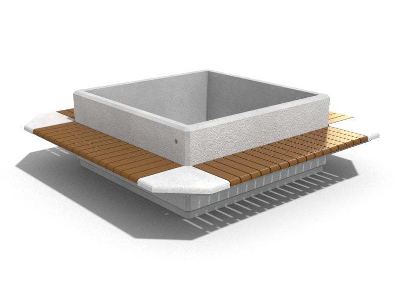 bersicht pflanzk bel aus beton bituma. Black Bedroom Furniture Sets. Home Design Ideas