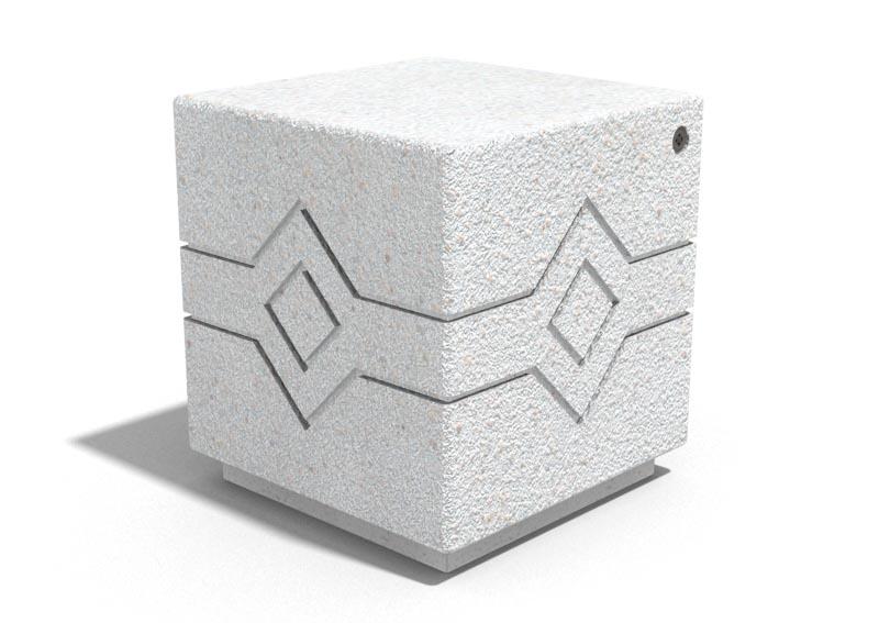 poller 149 aus beton von bituma. Black Bedroom Furniture Sets. Home Design Ideas